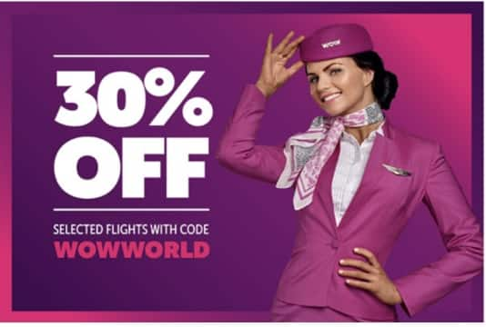 Wow airlines coupon code