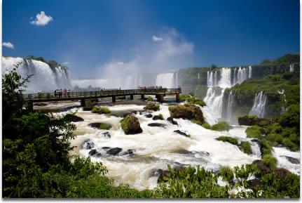 Washington DC to Iguazu Falls Brazil $538 RT Airfares (Travel Sept-Oct)