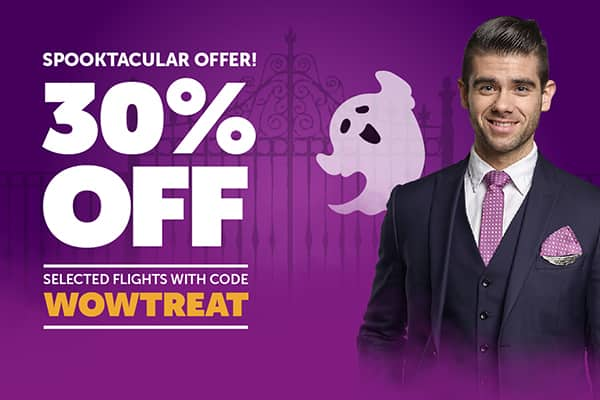 WOW Air - 30% Off Promo Code on Select European Destinations - Book by Nov 2, 2018