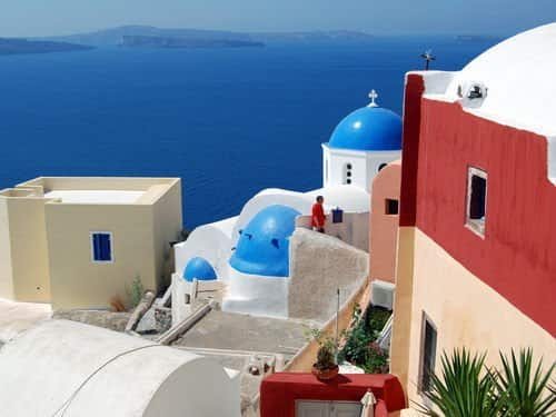 Washington DC to Santorini Greece $509-$555 RT Airfares on One World Alliance Airlines (Scattered Dates Aug-Sept 2019)