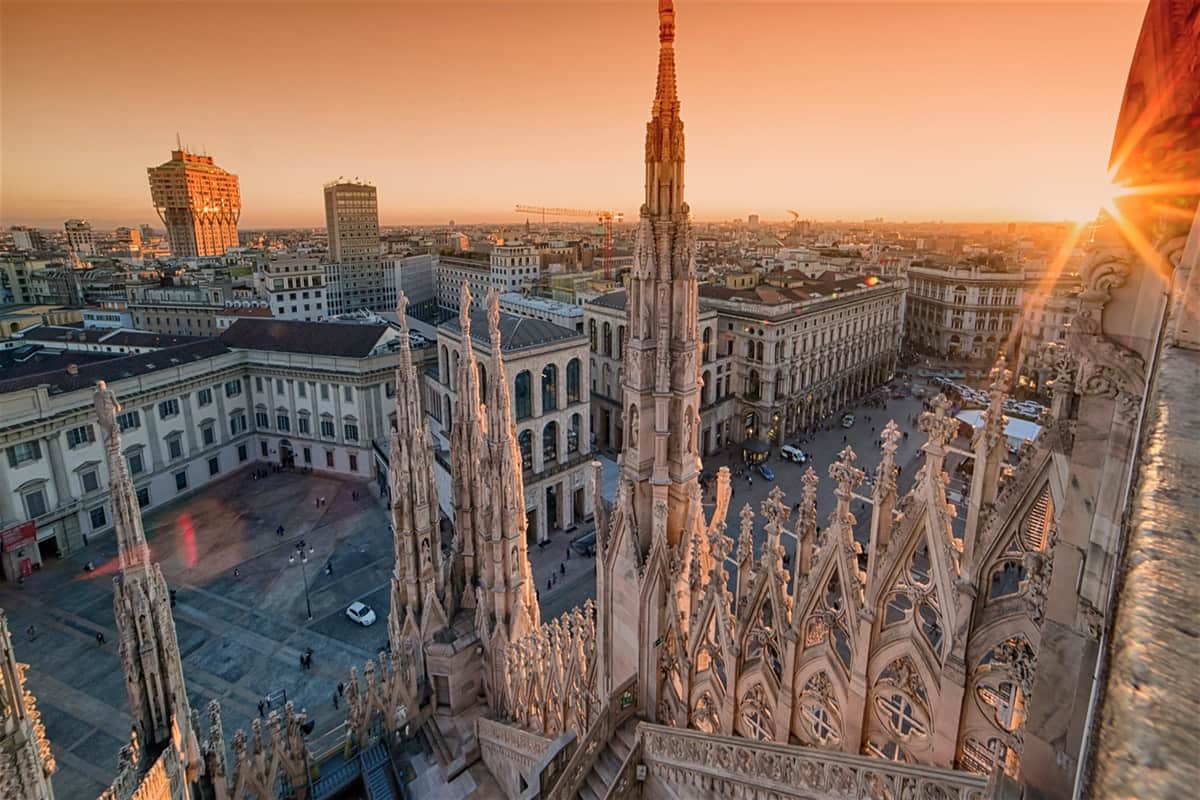 Las Vegas to Milan Italy $570 RT Airfares on Condor/Lufthansa (Limited Travel January-March 2020)