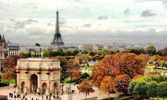 Charlotte NC to Paris France $388-$392 RT Airfares on Star Alliance Airlines (Travel November-May 2020)