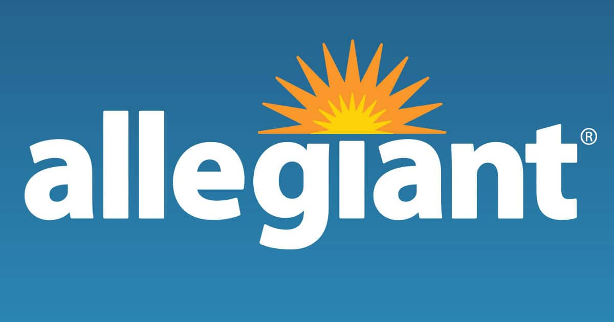 Allegiant Air Intro Fares to 5 New Nonstop Routes From $55 OW  (Travel February-August 2020) - Book by Nov 13, 2019