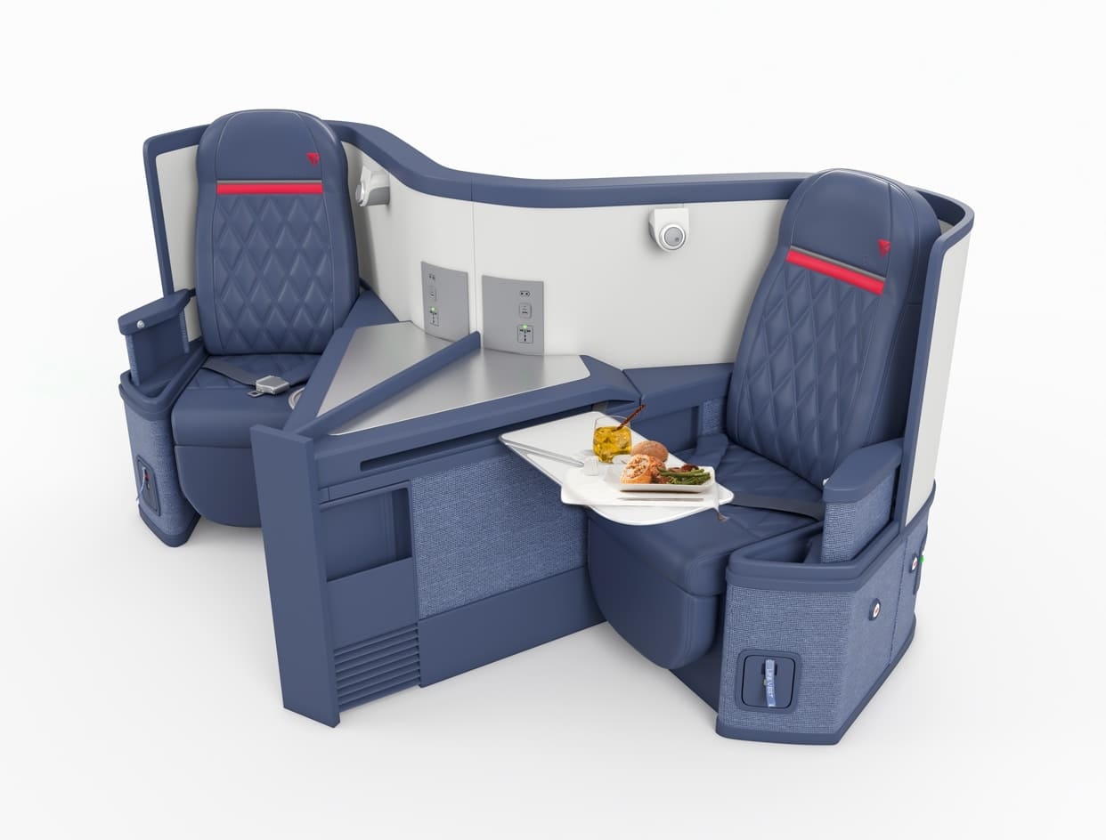Delta Airlines SkyMiles Deals - Select Roundtrip EUROPE DELTA ONE Award Tickets 98K - Book by Nov 14, 2019