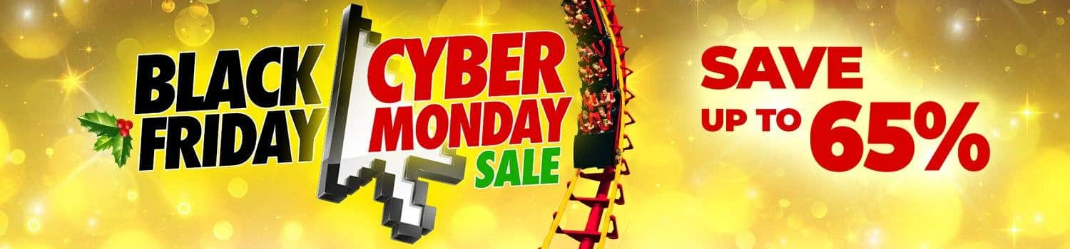 Six Flags Magic Mountain Black Friday / Cyber Monday Deal - Season Pass for Unlimited Admission to All Six Flags Plus Other Bonuses for $93