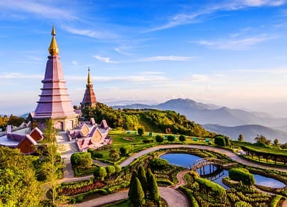 San Francisco to Chiang Mai Thailand $540 RT Airfares on Delta / Korean Air Main Cabin (Travel January - March 2021)