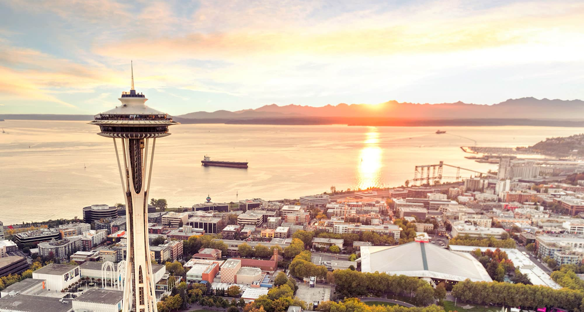 Charleston SC to Seattle or Vice Versa $195 RT Nonstop Airfares on Alaska Airlines Saver Fares (Travel August - December 2020)