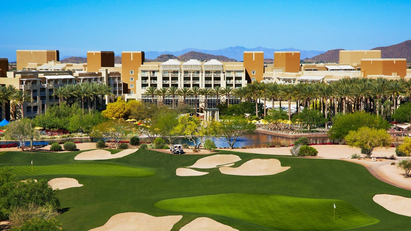 [Phoenix AZ]  Marriott Desert Ridge Resort 'Learn, Work & PLAY Package' $179 with Unlimited Golf for 4 Plus More - Book by December 31, 2020
