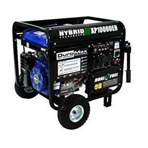 DuroMax 10000 Watt Hybrid Dual Fuel Portable Gas Propane Generator $699.99