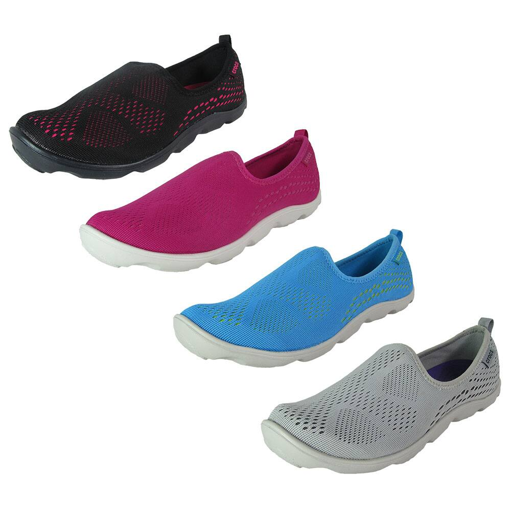 860b0f0d5360 Crocs Women s Stretch Sole Loafer or Duet Xpress Mesh Skimmer Clog ...