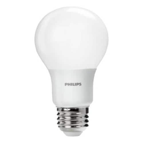 Philips 60W Equivalent Daylight A19 LED Light Bulb (4-Pack) - $6.97 Free Shipping - Home Depot