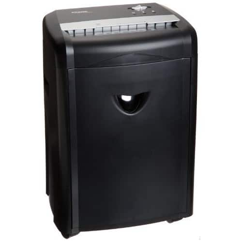 AmazonBasics 12-Sheet High-Security Micro-Cut Paper, CD, and Credit Card Shredder with Pullout Basket $77.65