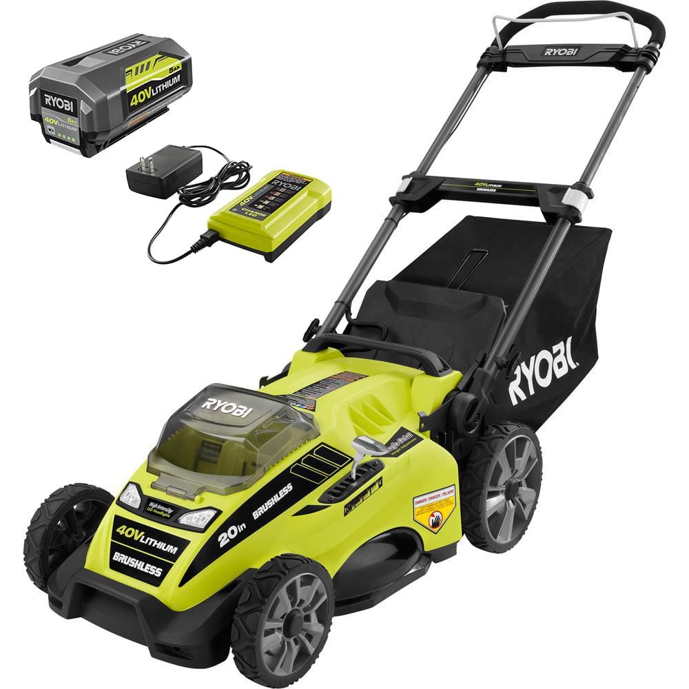 Lawnmower 40V, 20in Ryobi RY40180 at HomeDepot on clearance $149 - YMMV