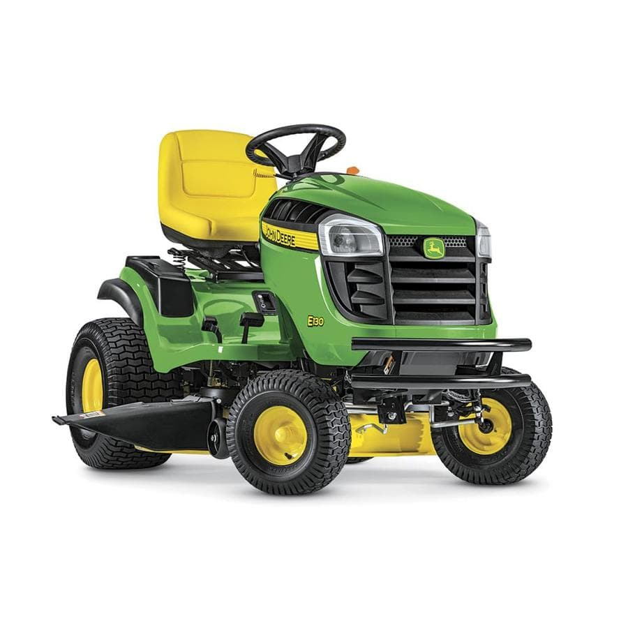 Buy a John Deere 100 Series Riding Lawn Mower, Get a $199 Dump Cart (#317783) for FREE Lowes