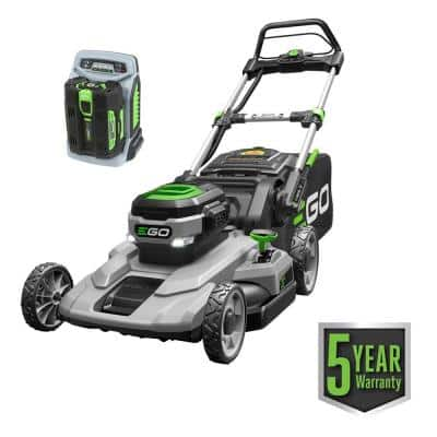 EGO 21 in. 56-Volt Lithium-ion Cordless Battery Walk Behind Push Mower 5.0 Ah Battery/Charger Included $279  YMMV