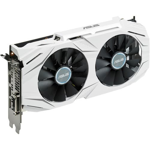 ASUS GeForce GTX 1060 DUAL-GTX1060-O6G 6GB 192-Bit GDDR5 PCI Express 3.0 HDCP Ready Video Card $329.99 AR