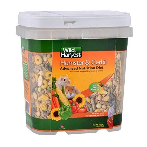 Wild Harvest Wh-83543 Wild Harvest Advanced Nutrition Diet For Hamsters Or Gerbils, 4.5-Pound $12.61