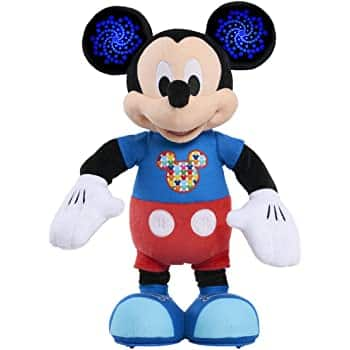 Mickey Mouse Baby Musical Discovery Plush $8.8 Free Shipping