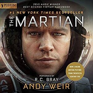 The Martian by Andy Weir audio book free on Amazon