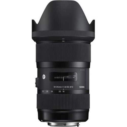 Sigma 18-35mm F/1.8 DC HSM ART Lens for Canon or Nikon for $529 + FS *Back again*