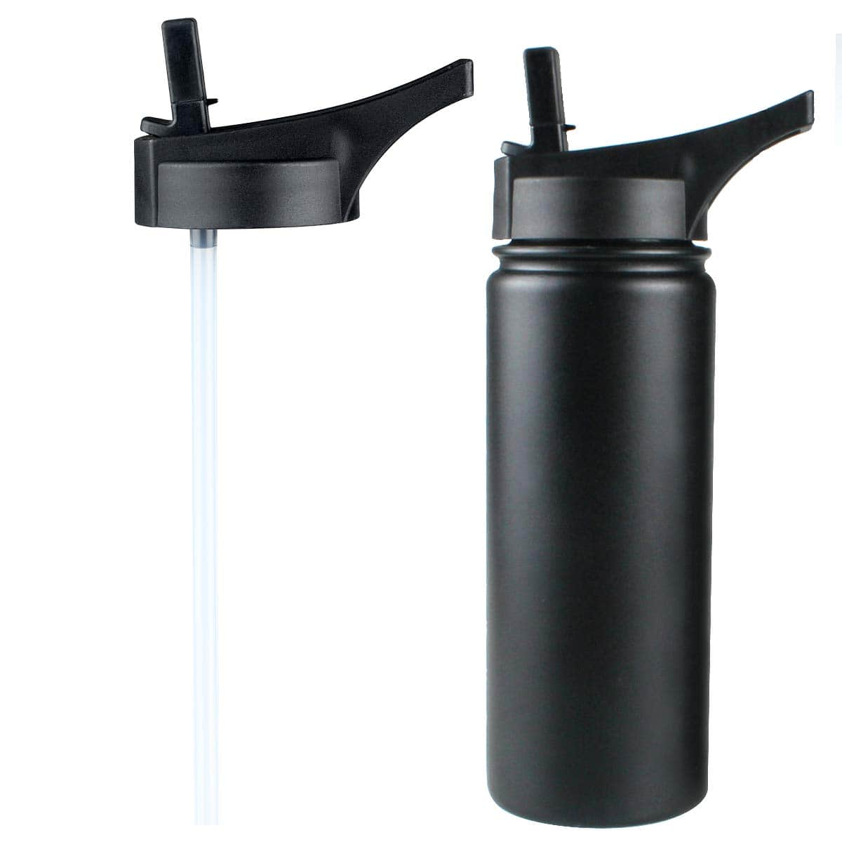 Straw Lids for Most Brands Wide Mouth Water Bottle $4.49 @Amazon