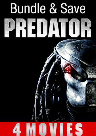VUDU Predator 4 Film Collection in 4K UHD $24.99