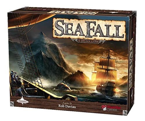 Seafall: A Legacy Game - Boardgame at Amazon for $35 w Prime