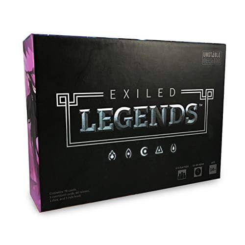 Exiled Legends Base Game at Amazon and Walmart $13.8