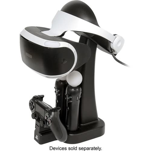 PowerA - Charge and Display Station for PlayStation VR - Black - $31.99 Free Pick up - Best Buy