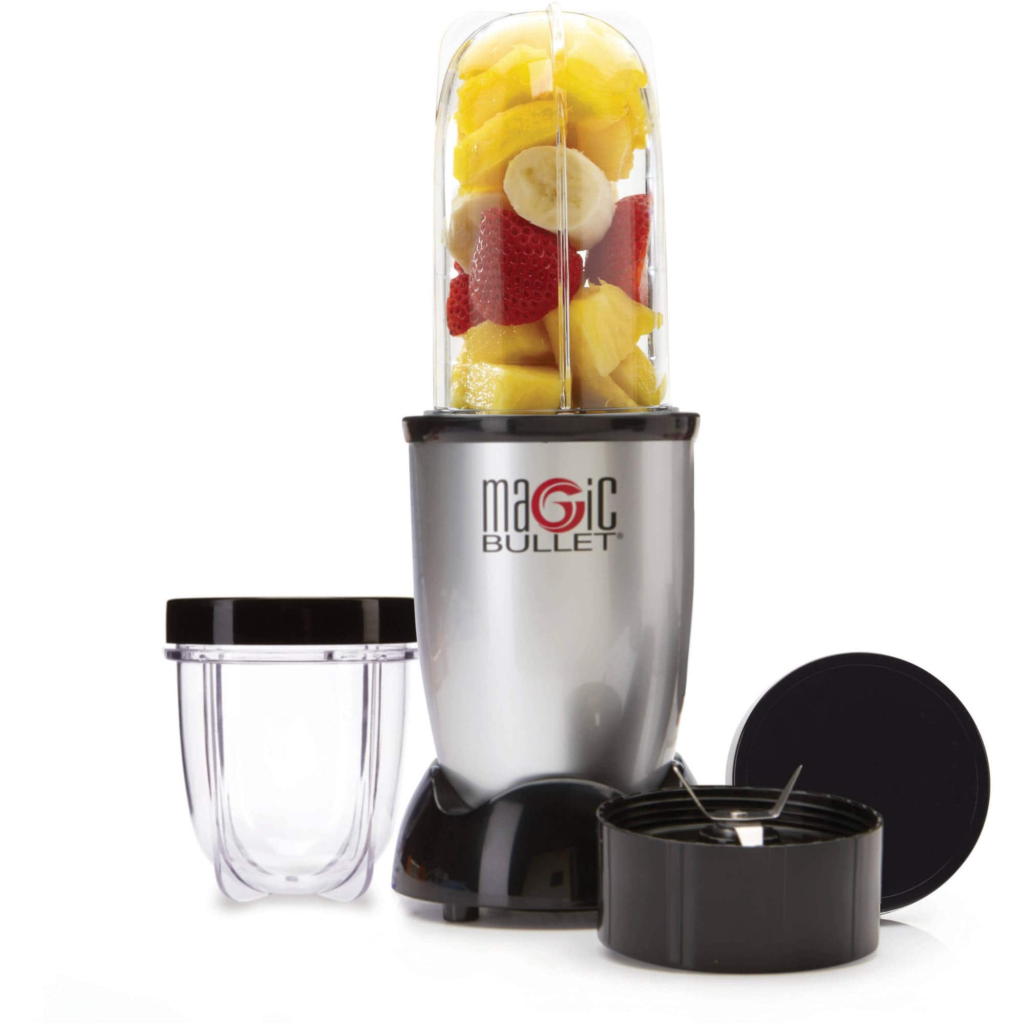 Magic Bullet, 7-Piece, Silver -  $15 in store pickup only or $10 at select stores - Walmart YMMV