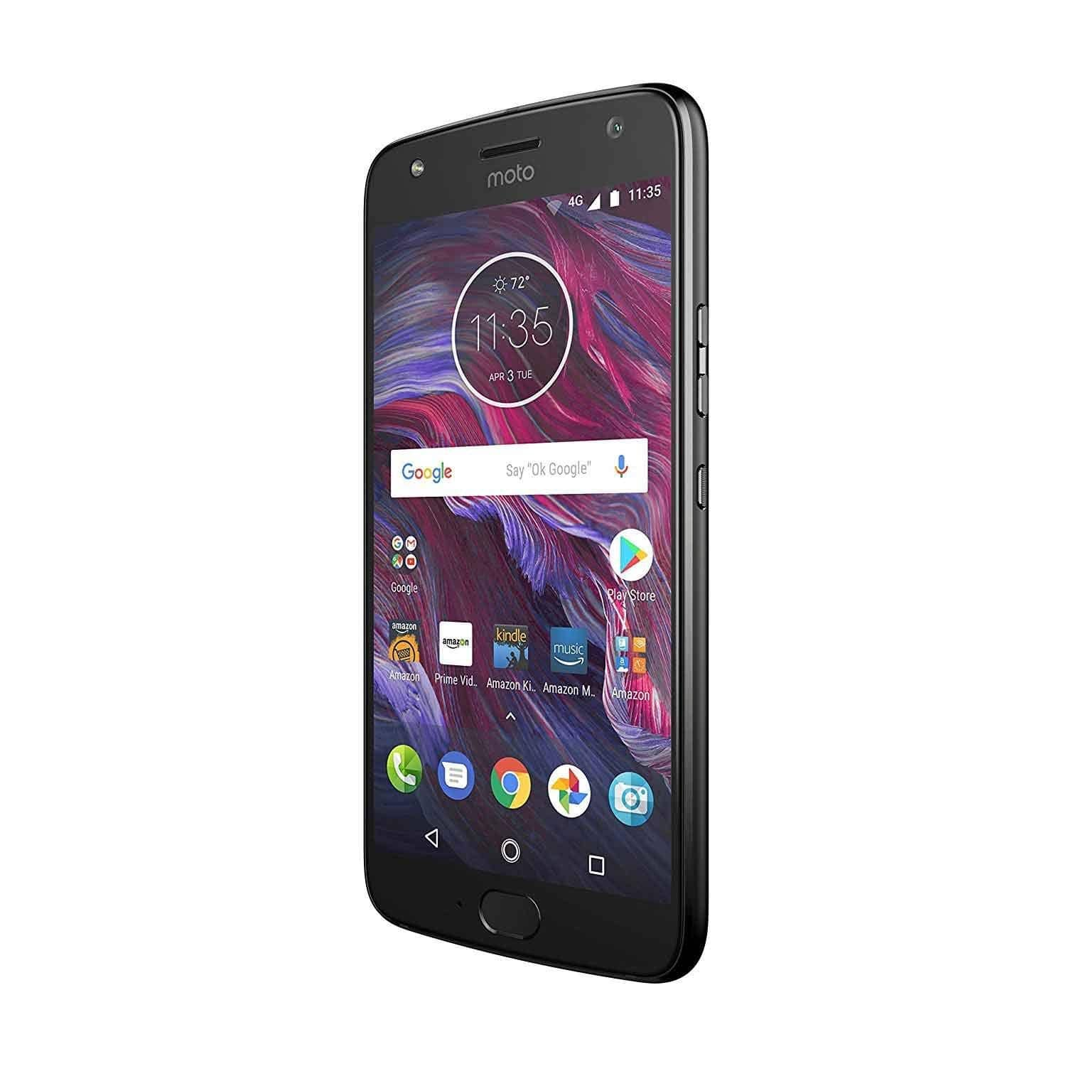 Moto X (4th Generation) - with Amazon Alexa hands-free – 32 GB - Unlocked – Super Black - Prime Exclusive $119.99