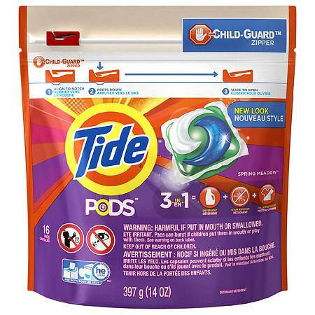 Tide PODS Laundry Detergent Pacs 12ct or 16ct - $1.99 AC - Walgreens