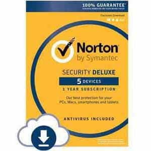 Norton 360 Deluxe (5 Devices) - $19.99 AC/360 Premium (10 devices) $29.99 AC/Security Deluxe (5 Devices) - $14.99 AC/Security Premium (10 devices) - $24.99 AC - Download @ Fry's