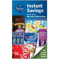 Sam's Club Deal: Sam's Club Instant Savings Coupon Book March 26 - April 19th
