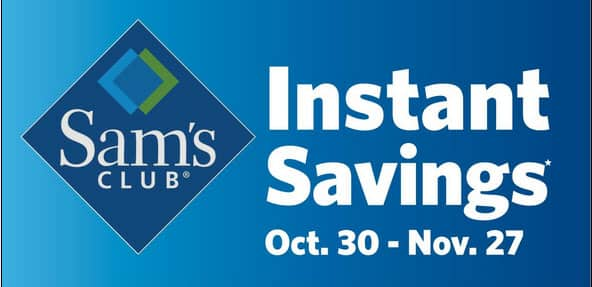 Sam's Club Instant Savings Coupon Book Oct 30 - Nov 27th Like Costco