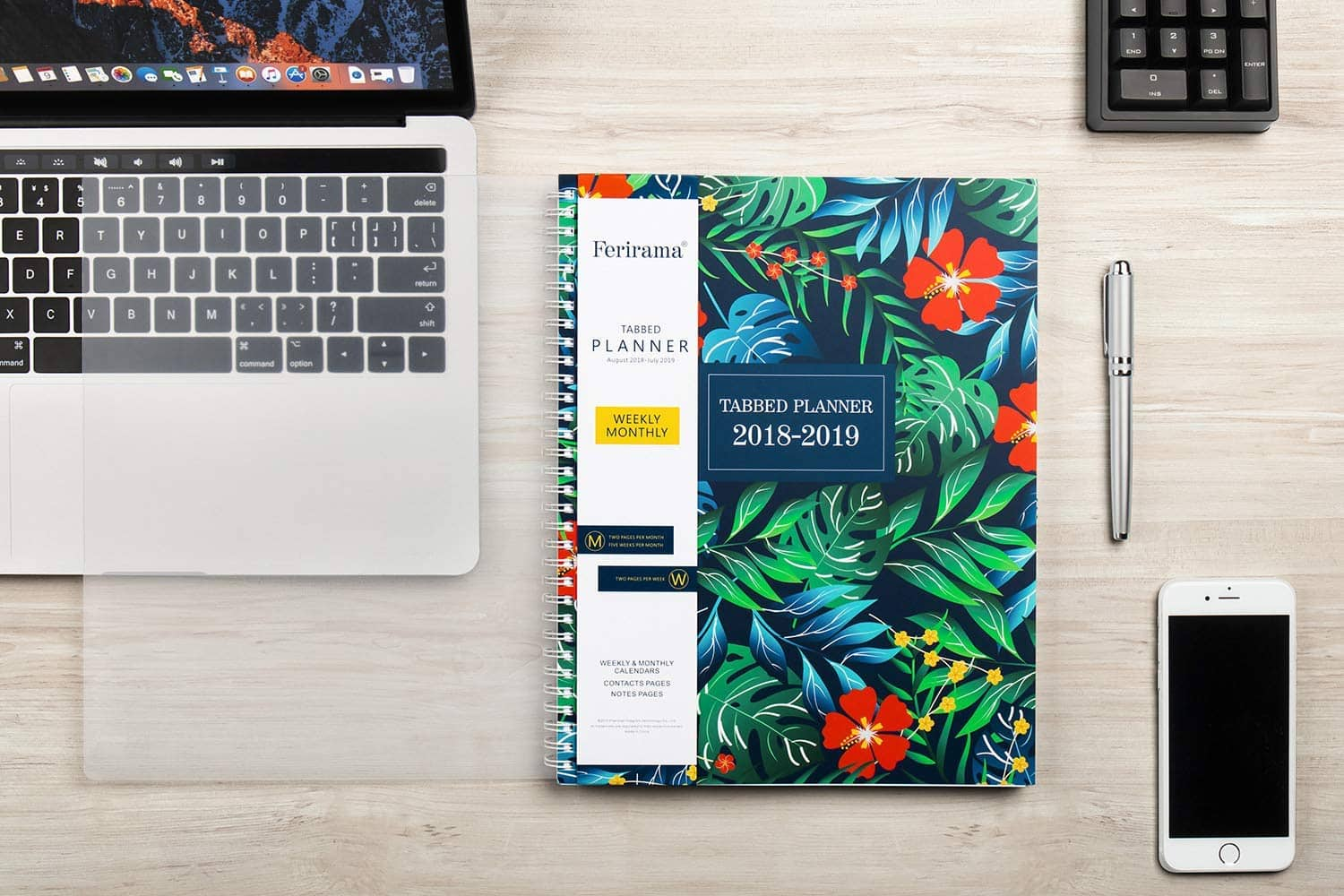 Planner 2018-2019 $6.49 + Free Shipping
