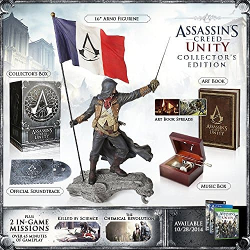 Assassins Creed Unity Collectors Edition - 59.99 for Ps4/XBOX one. PRICE ERROR? @Dell