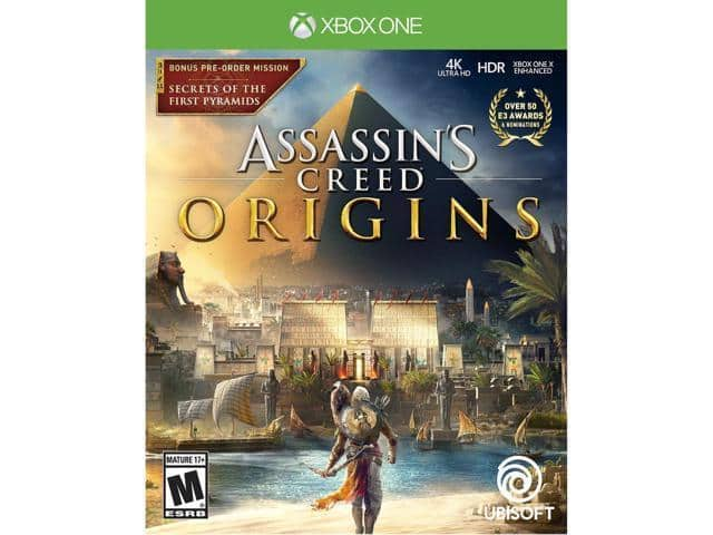 Assassin's Creed Origins (Xbox One/ Playstation 4)($47.99)@newegg ebay