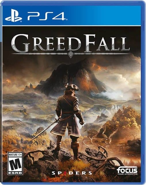 GreedFall(PS4) $49.99 with $10 e-Gift Card @ Best Buy