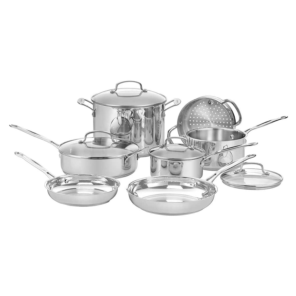 Cuisinart® Chef's Classic™ 11-Pc. Stainless Steel Cookware Set - $115.59 (kohl's ) +free shipping