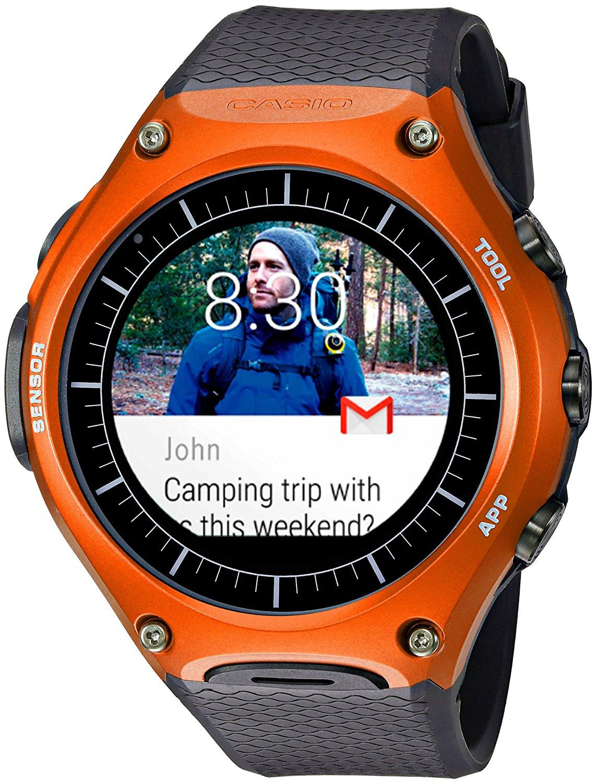Casio WSD-F10 Smart Outdoor Watch (orange, black, red & green) $250 + FS w/ Prime