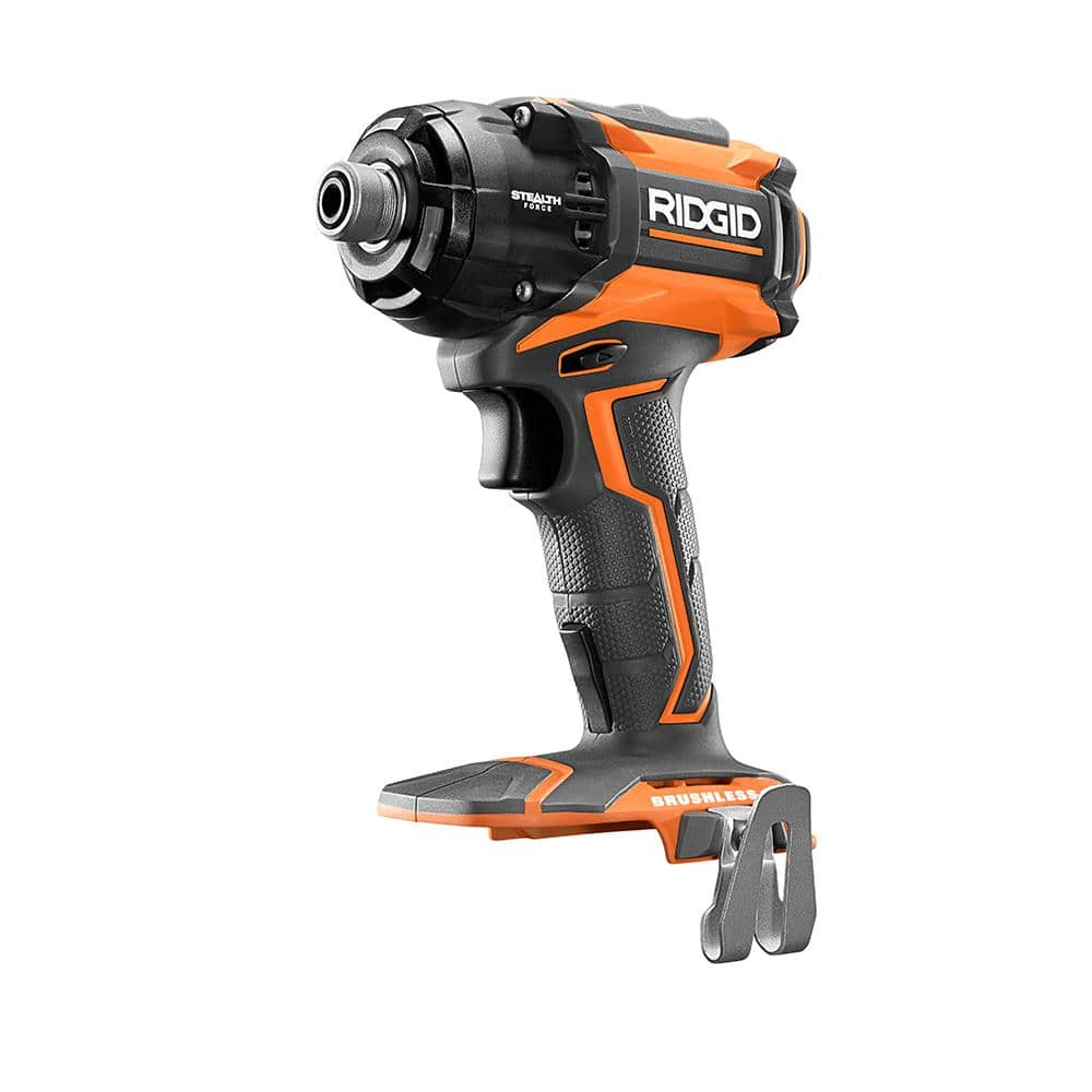 RIDGID 18 Volt Lithium-Ion Brushless 1/4 in. STEALTH FORCE Pulse Driver $90