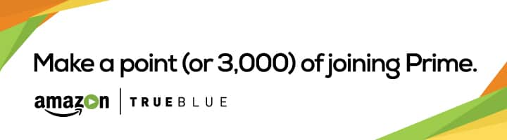 3,000 Trueblue points from JetBlue for new Prime members