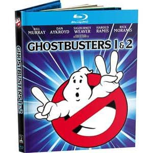 Ghostbusters / Ghostbusters 2 (4K-Mastered + Included Digibook) [Blu-ray]​ Amazon $10