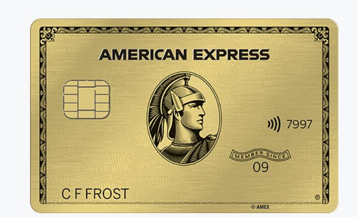 Amex Gold Card: 50000 Points Signup Bonus $250 AF