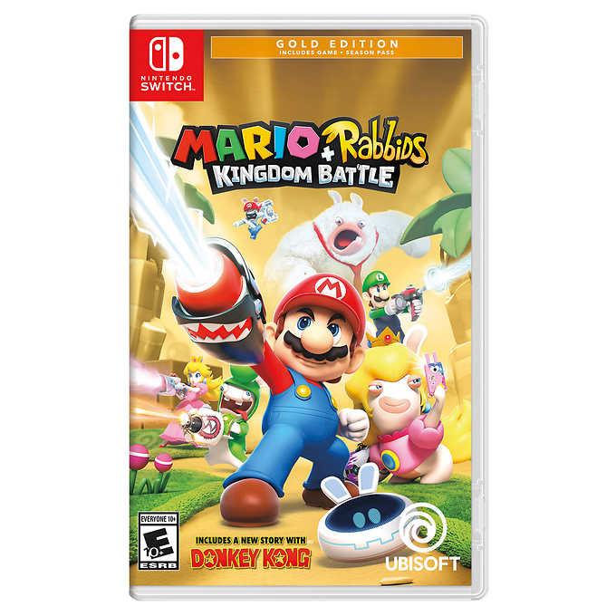 Nintendo Switch Mario + Rabbids Kingdom Battle Gold Edition $33.99