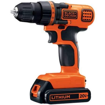 BLACK+DECKER LDX120C 20-Volt MAX Lithium-Ion Cordless Drill/Driver [Drill/Driver] In-Store Only  $13.00  YMMV