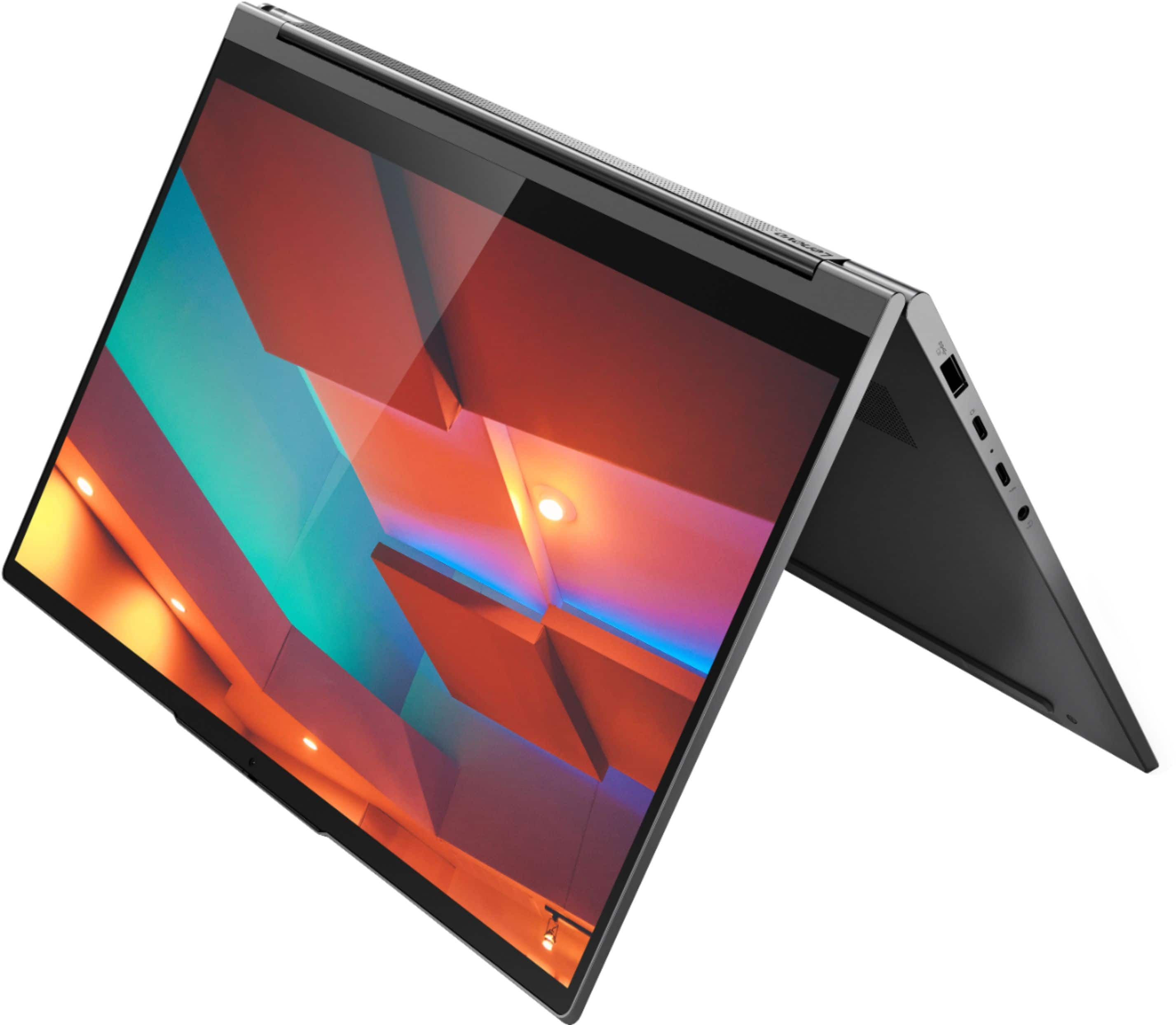 Lenovo Yoga C940 2 In 1 14 In Fhd Touch Screen Intel Core I7 1065g7 12gb Lp Ddr4 Memory 512gb Solid State Drive Iron Gray 81q9002gus Best Buy 1149 99 Slickdeals Net