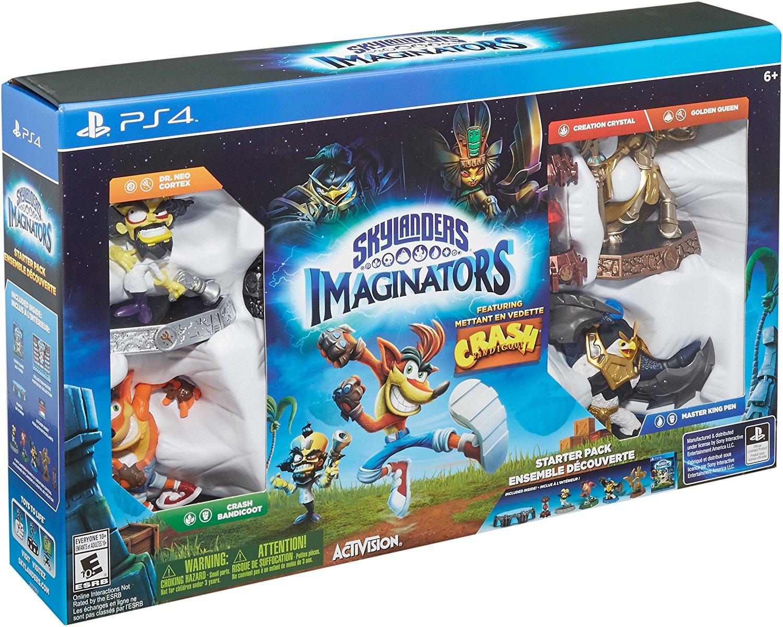Skylanders Imaginators Starter Pack featuring Crash ... Crash Bandicoot Ps3 Walmart