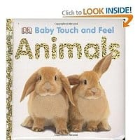 Amazon Deal: Baby touch and feel books: First words $3.30, Animals  $3.45 + FS w/ Amazon Prime